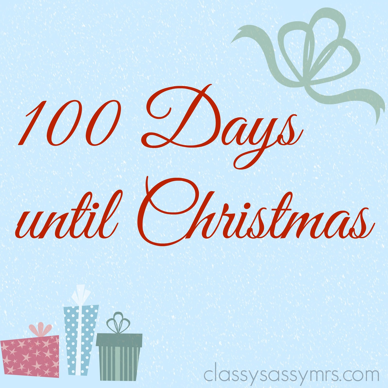 and i couldnt be more excited just in case you havent known i love love love christmas the holiday season has always been a special time and i love the - How Many More Days Until Christmas 2014