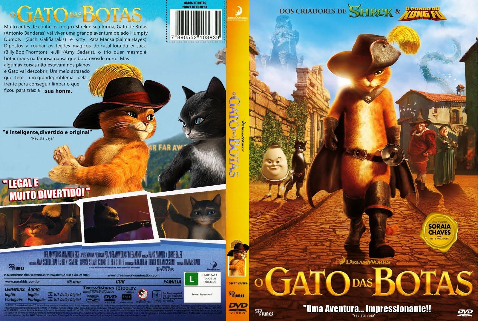 Imagens Gato de Botas (2011) Torrent Dublado 1080p 720p BluRay Download