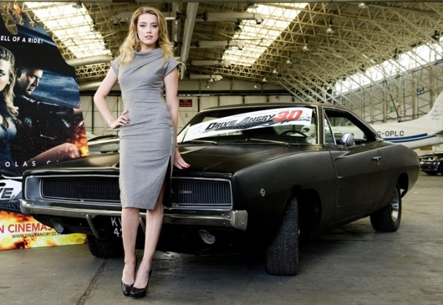 amber heard top gear