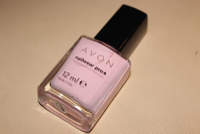 Avon Pink Pastel Nail Lacquer