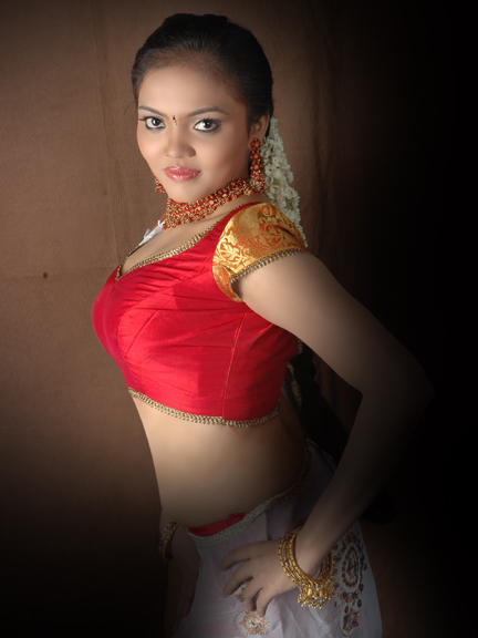 Actress Nikisha Desi Traditional Styles Spicy Stills Photo Shoots hot photos