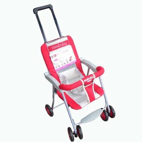 Xe đẩy em bé Seebaby  QQ1 - 1 màu hồng