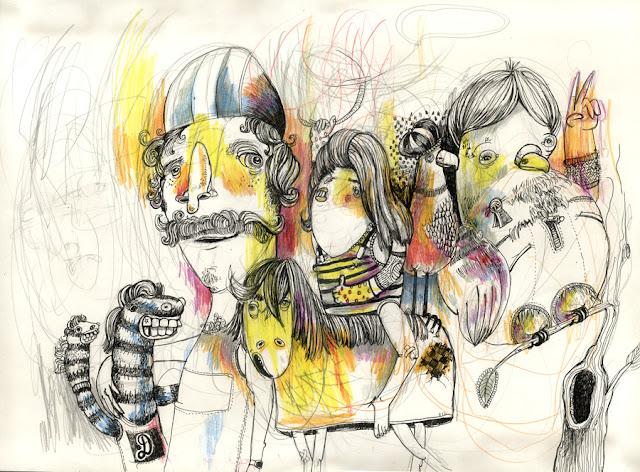 Bambule sketchbook Diana Koehne