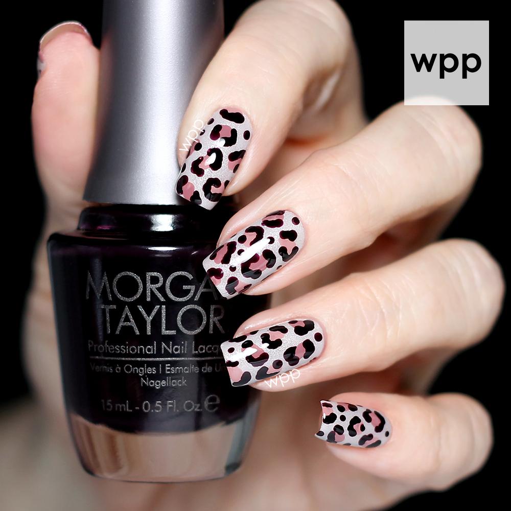 Sophisticated Leopard Print Morgan Taylor Nail Art Work Play
