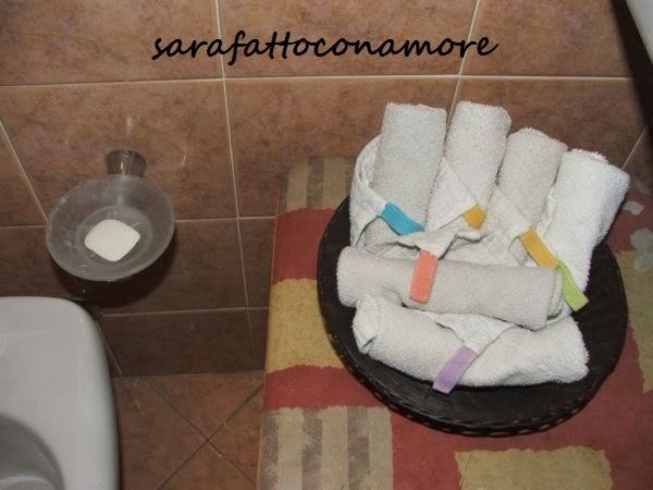 Sarafattoconamore la nostra casa a misura di bimbo bagno - Porta pannolini ikea ...