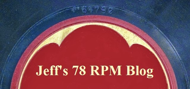 Jeff's 78 RPM Blog