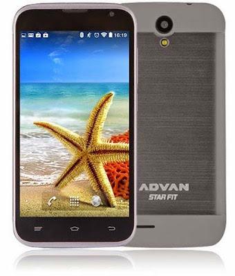 Spesifikasi & Harga Advan Star Fit S45A, Ponsel Android 800 Ribuan