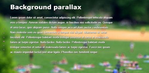 Parallax Scrolling Plugins