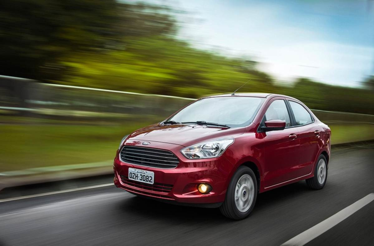 Novo Ford KA+ (Sedã)