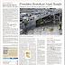 Headline Kompas: Presiden Bertekad Atasi Banjir