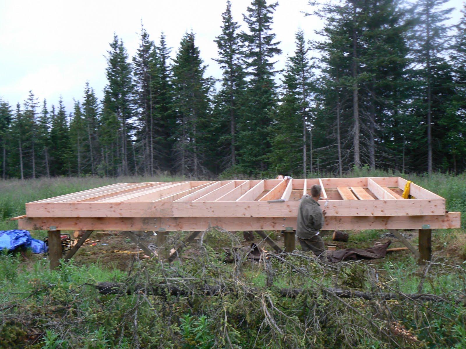 homesteading in alaska from the beginning