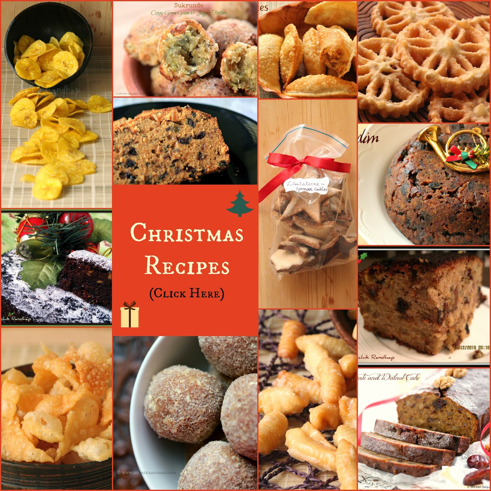 christmas recipes ~ new picture index!