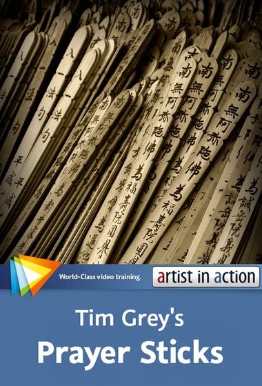 """Video2Brain – Photoshop Artist in Action: Tim Grey's """"Prayer Sticks"""""""