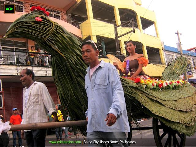 Batac Carosa parade