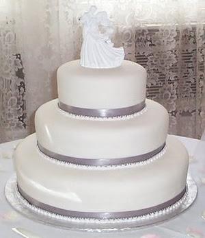 Fondant Wedding Cake Images