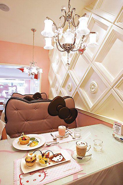 Tokyochel today 39 s random kawaii hello kitty restaurant - Casa hello kitty ...