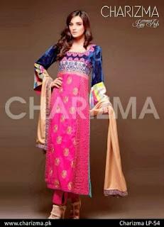 Blue & Pink Winter Dresses