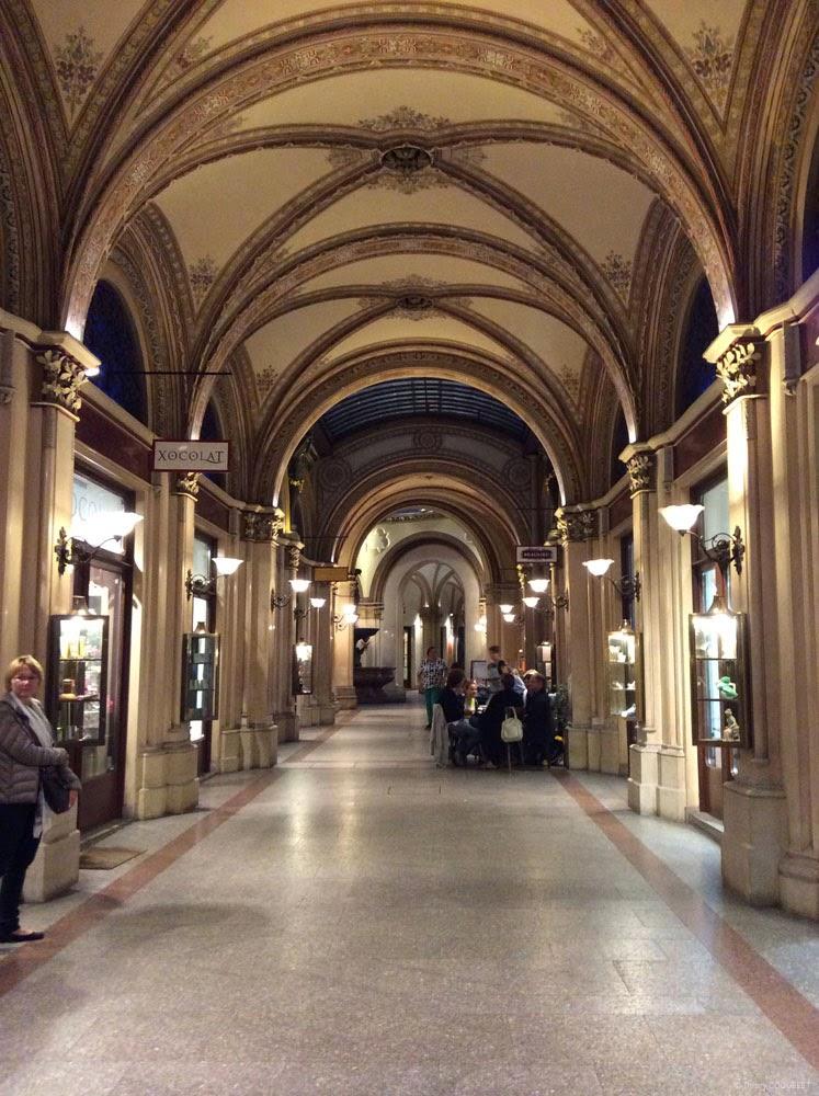 Freyung Passage, sous le Palais Frestel.