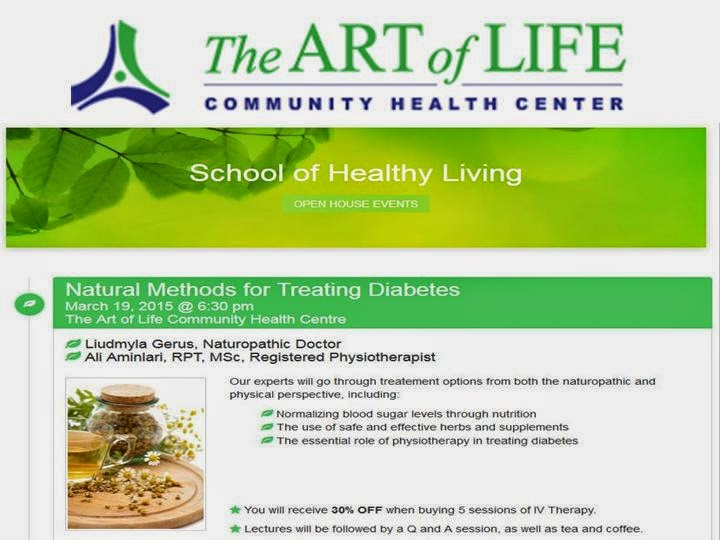 Natural Methods for Treating Diabetes: Open House TAOL Health