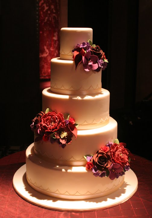 Joseph Cakes Cipriani 42nd Street NYC Elegant Wedding Elegant Cake