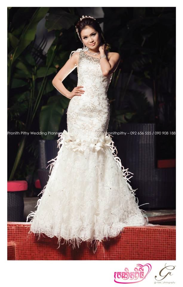 Khmer Modern Wedding Dress for Bride - Top 10 Dress