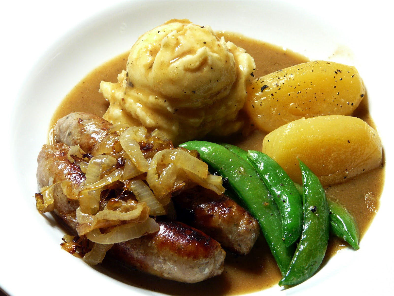 Thibeault's Table: Bangers and Mash - St. Patrick's Day Dinner