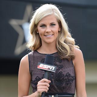 Samantha Ponder is an ex-sideline reporter for ESPN Thursday Night Football.