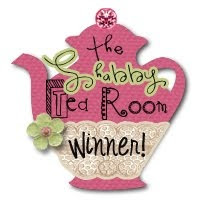The Shabby Tea Room Winner #105, 138, 168