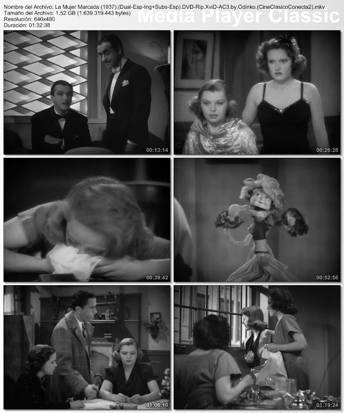 Fotos de la película: La mujer marcada | 1937 | Marked Woman