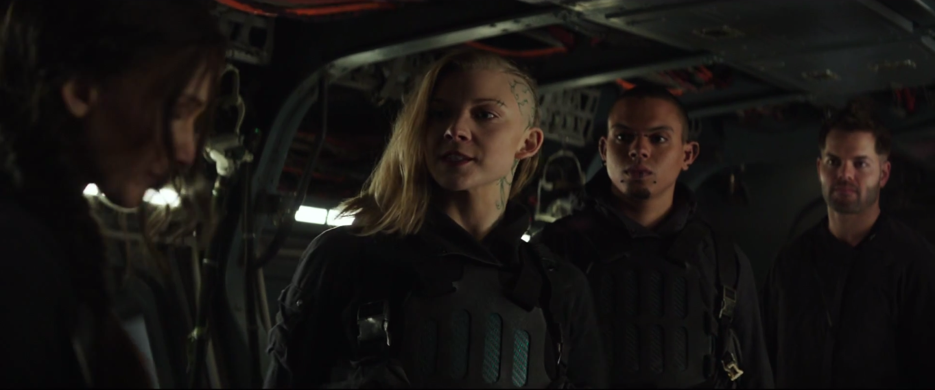 second mockingjay part one clip cressida katniss hovercraft