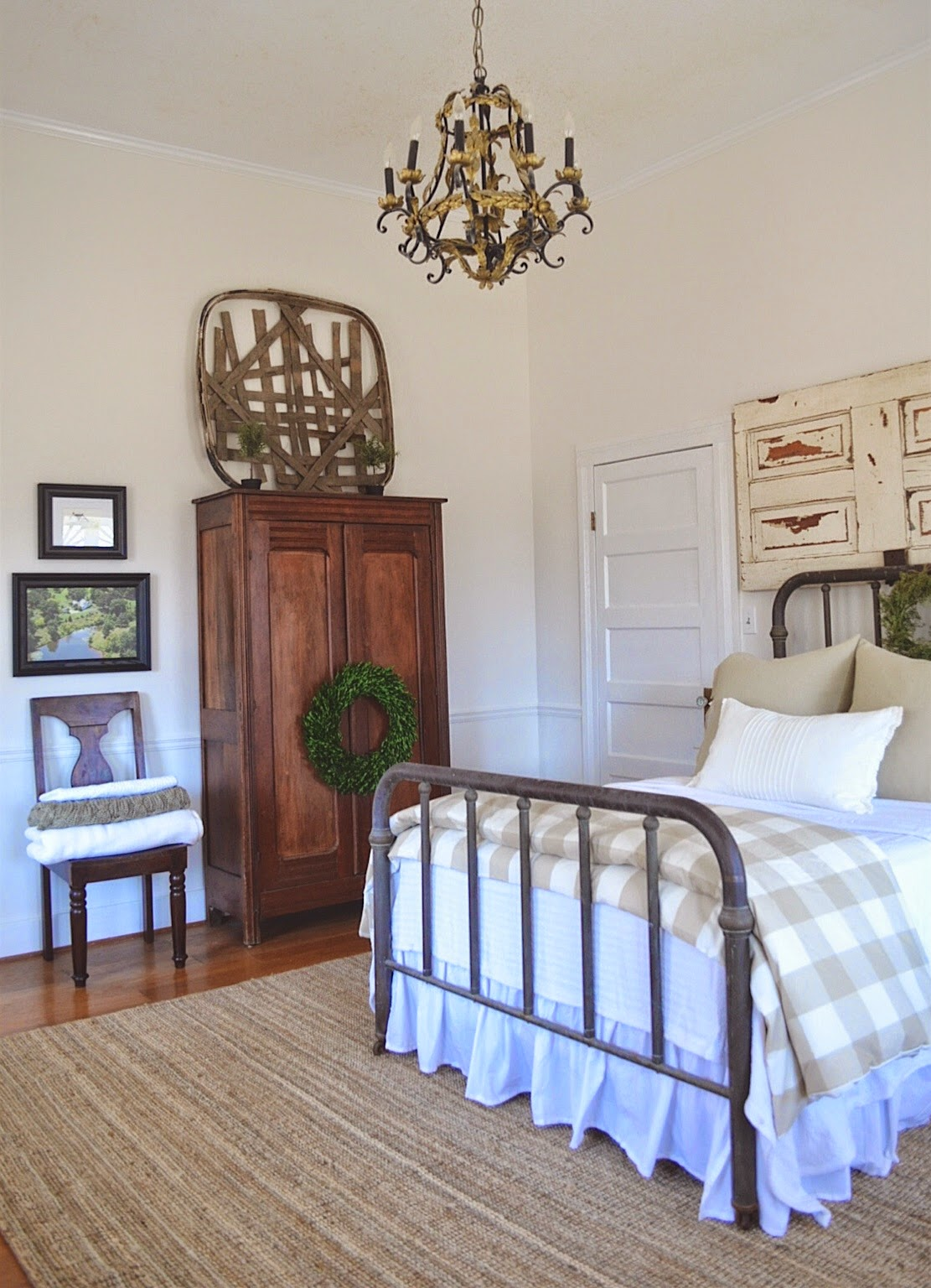 Little white house blog spare bedroom makeover for Farmhouse guest bedroom