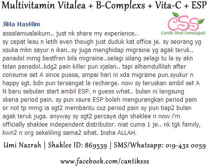 Testimoni ESP - Energizing Soy Protein Isolate Powder ...