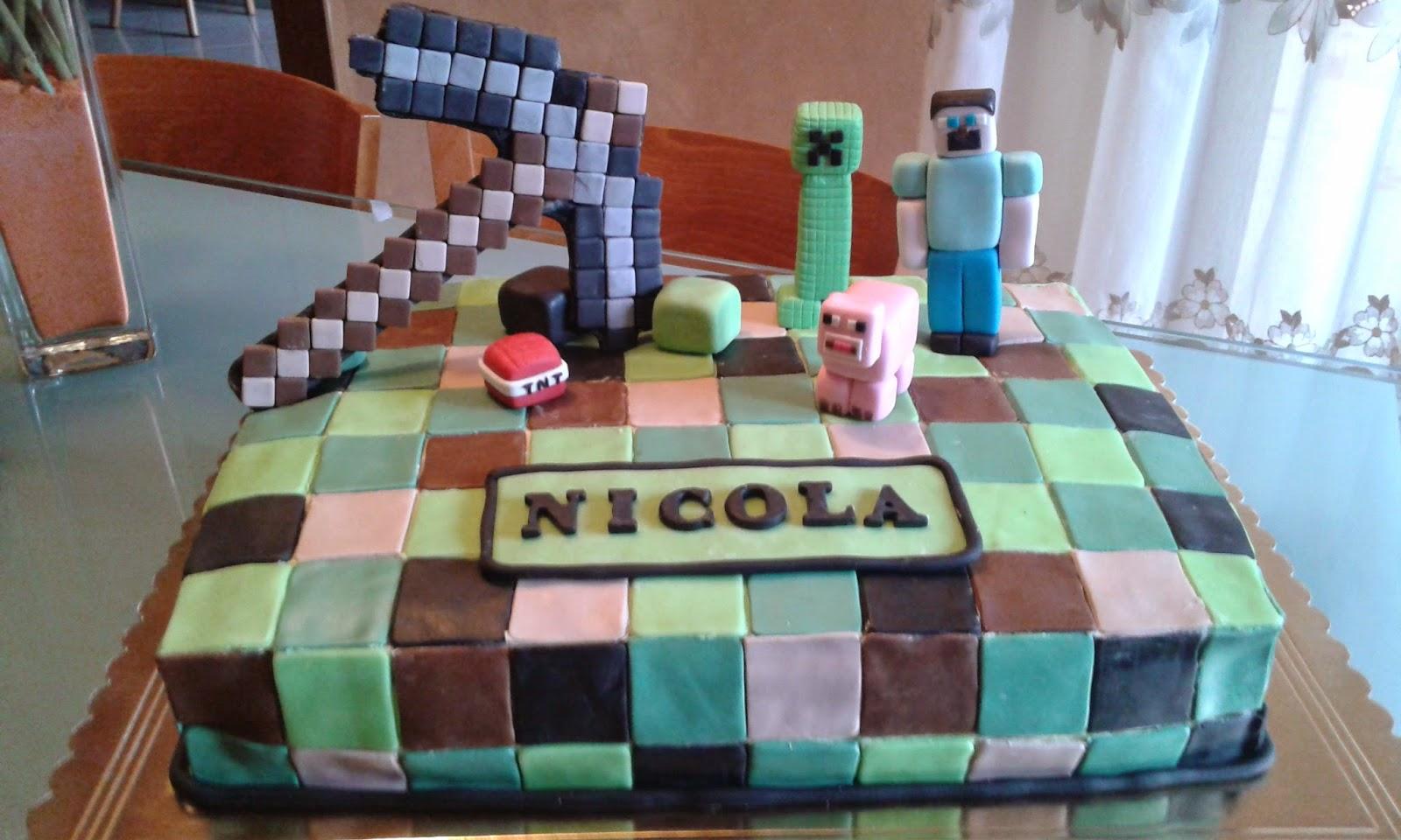 Torta pdz Minecraft
