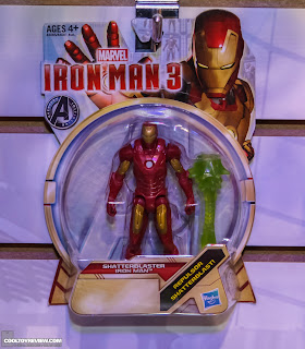 Hasbro 2013 Toy Fair Display Pictures - Iron Man 3 - Assemblers - Shatterblaster figure