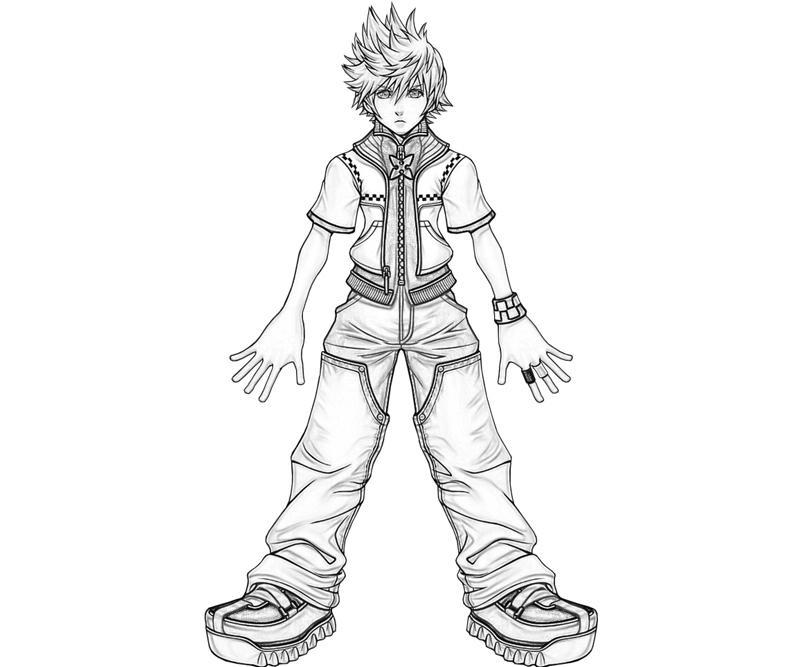 Kingdom Hearts Roxas Characters Yumiko Fujiwara