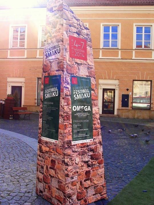 Europejski Festiwal Smaku w Lublinie - moja relacja