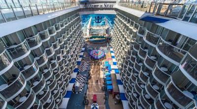 Terbesar di Dunia, Kapal Pesiar Mewah Ini Kalahkan Titanic
