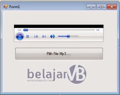 Cara Memutar Musik MP3 di VB Net | Belajar VB