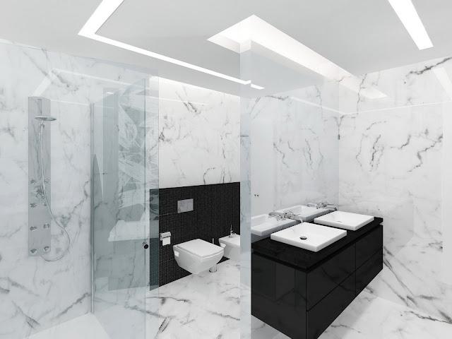 Ванная комната в ЖК Миракс Парк