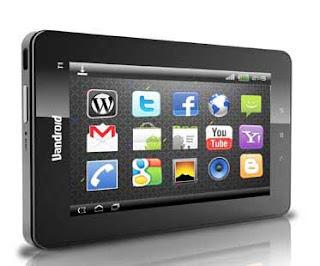 harga terbaru tablet Android 2012 Vandroid T1 advan
