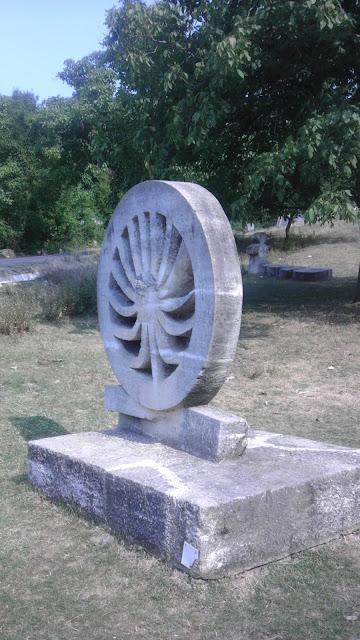 Tabara de sculptura Magura, Judetul Buzau, Romania