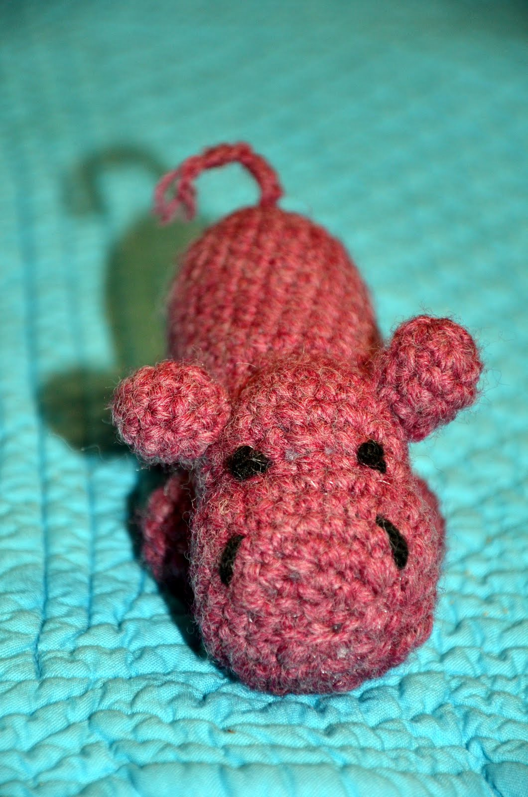 Just a Little Something Betsy: AMIGURUMI HIPPO!!