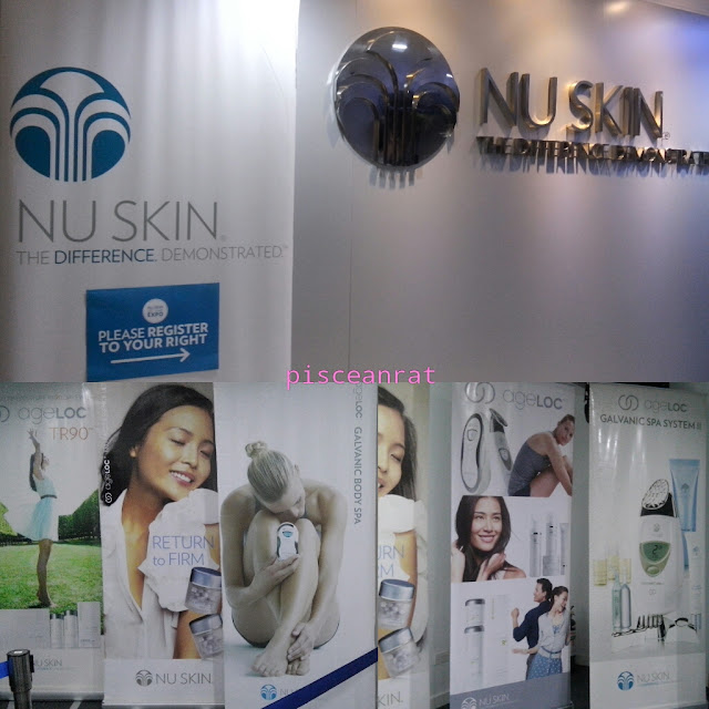 NU SKIN Ageloc Expo held last August 14 to 15, 2015 from 11 AM to 8 PM, at the 15th Flr., Ocatagon Centre, San Miguel Ave., Ortigas, Pasig City.