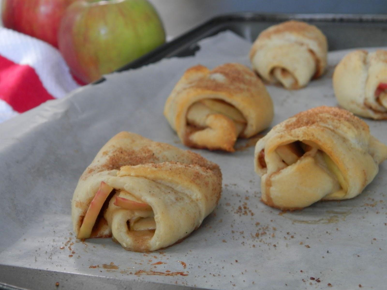 Ces temps ci en cuisine croissant pillsbury aux pommes - Cuisiner avec se que j ai dans mon frigo ...