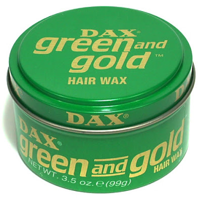 Dax Green and Gold Hair Wax Pomade