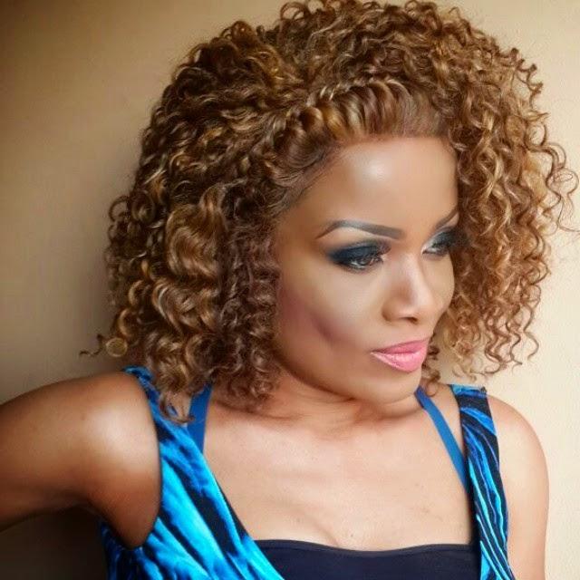Pretty Adaeze Yobo's mum Abigail dazzles in new photos