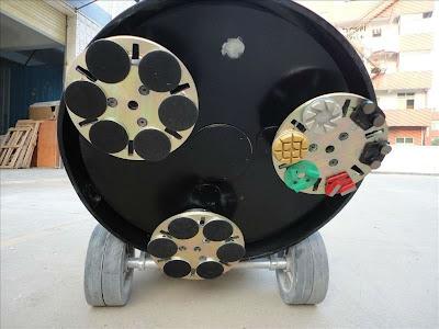 Đế đĩa máy mài bê tông