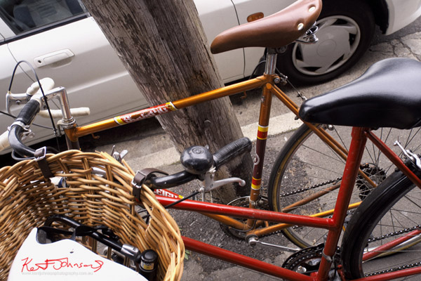 Vintage road bikes Redfern, Men's and Woman's.