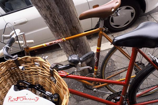 Vintage road bikes Redfern, Men's and Woman's.