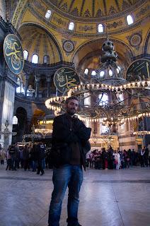 interior de Santa Sofia, Estambul